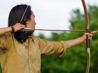 Japanischer Bogenschütze