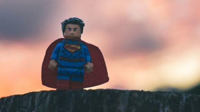 Spielzeugfigur Superman
