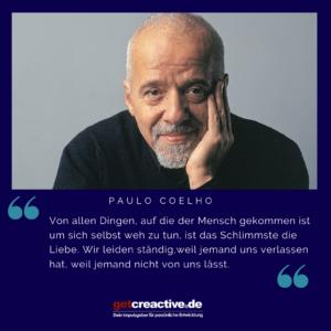 CoelhoFoto mit Liebeszitat