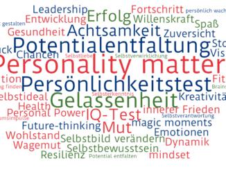 Wordcloud Persönlichkeit